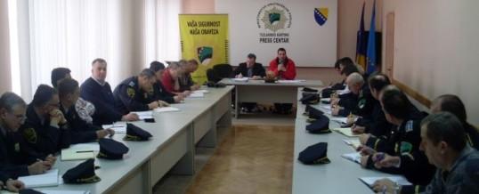 Održan vanredni prošireni kolegij MUP TK-a