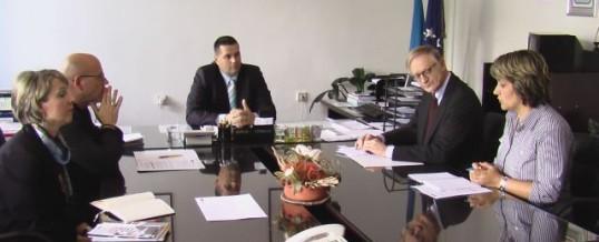 Predstavnici OSCE-a u posjeti MUP TK-a