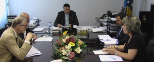 Održan sastanak sa predstavnicima OSCE-a