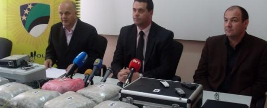 Press konferencija – Uspješna zajednička akcija službenika policije MUP TK-a