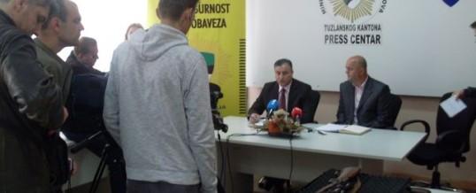 MUP TK – Održana press konferencija