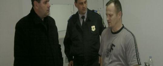 Posjeta službeniku policije PS Centar