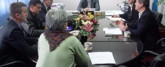 Radni sastanak pregovaračkog tima i predstavnika Sindikata MUP TK-a
