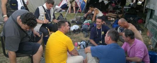 Ministar Gutić posjetio učesnike Marša mira