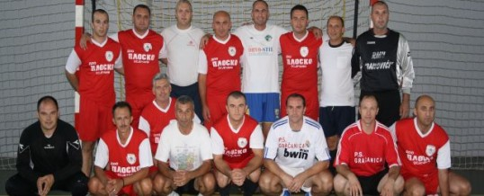 Prijateljska utakmica između MUP TK-a i CJB Doboj