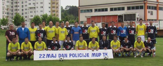Započete sportske aktivnosti u povodu 22.maja – Dana policije TK-a