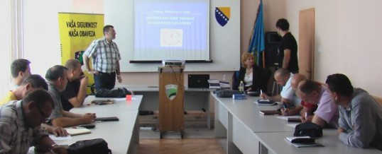 Održana edukativna prezentacija za službenike MUP TK-a