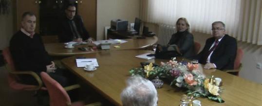 Sastanak sa predstavnicima Saveza Udruženja policije TK-a 1991 – 1995.