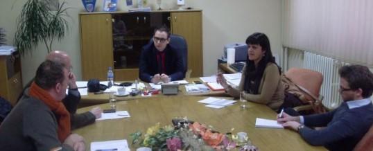 Predstavnici Misije OSCE-a u BiH u radnoj posjeti MUP TK-a