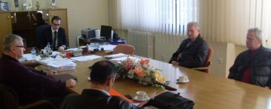 """Sastanak ministra MUP TK sa predstavnicima Udruženja demobilisanih policajaca 92-95 """"Manevarac"""" Tuzla"""