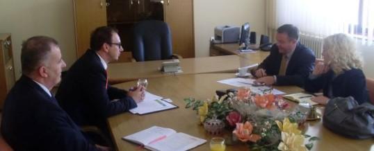 Održan sastanak sa predstavnicima Sekcije za sprovođenje zakona pri kancelariji Specijalnog Predstavnika EU