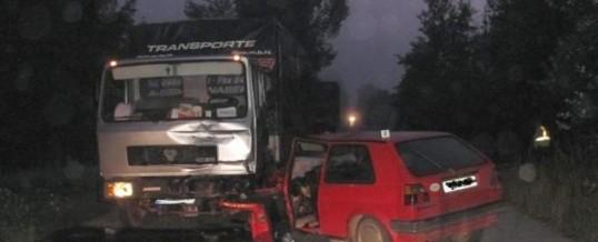 PU Živinice – saobraćajna nezgoda