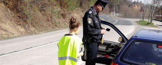 PS Banovići – Rad policije u zajednici i akcija u saobraćaju