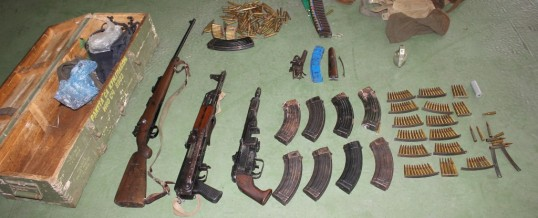 PU Lukavac – U pretresu pronađeno oružje i municija