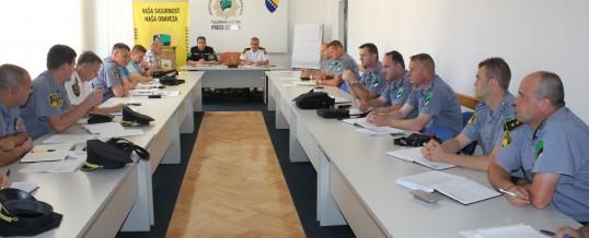 Održan sastanak sa komandirima policijskih stanica