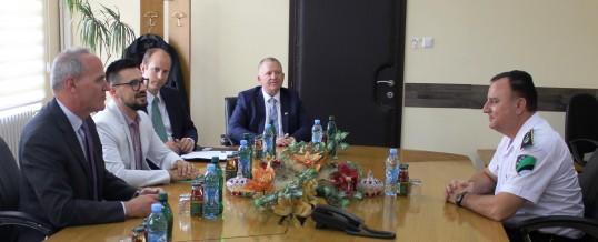 Predstavnici Američke ambasade u BiH i ICITAP-a  u posjeti Upravi policije MUP TK-a