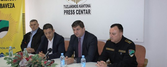 Ministar FMUP-a i direktor FUP-a u posjeti MUP-u TK-a