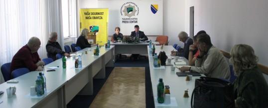 Radno-konsultativni sastanak sa načelnicima Odjeljenja za administraciju
