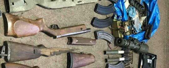 Oružje, municija i droga pronađeni u više pretresa na području TK-a