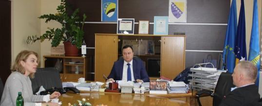 Novoimenovani direktor ICITAPA-a u radnoj posjeti Upravi policije MUP TK-a