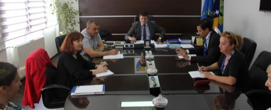 Predstavnici OSCE-a Tuzla u radnoj posjeti MUP-u TK-a