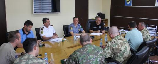 Načelnik štaba EUFOR-a u posjeti Upravi policije MUP-a TK-a