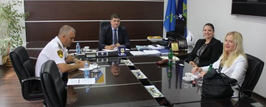 Predstavnici ambasade SAD-a u posjeti MUP-u Tuzlanskog kantona