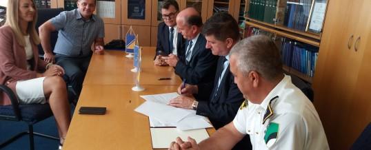 Potpisan sporazum o saradnji Pravnog fakulteta sa Ministarstvom unutrašnjih poslova TK i Općinskim sudom u Živinicama