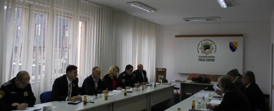 Uprava policije MUP TK-a – Održan radni sastanak