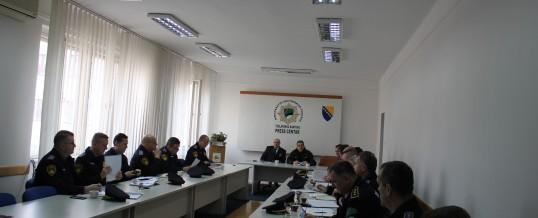 Uprava policije MUP TK- Održan radno-konsultativni sastanak