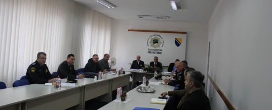 Održan radni sastanak proširenog kolegija Direktora Uprave policije  MUP TK-a
