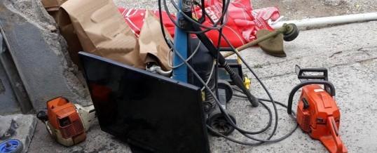 U pretresima na deset lokacija pronađeni predmeti iz krivičnih djela