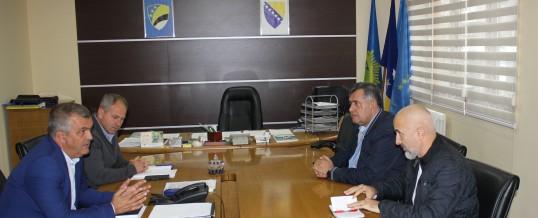 Održan sastanak rukovodstva Uprave policije MUP-a TK i Fakulteta za kriminalistiku, kriminologiju i sigurnosne studije Univerziteta u Sarajevu
