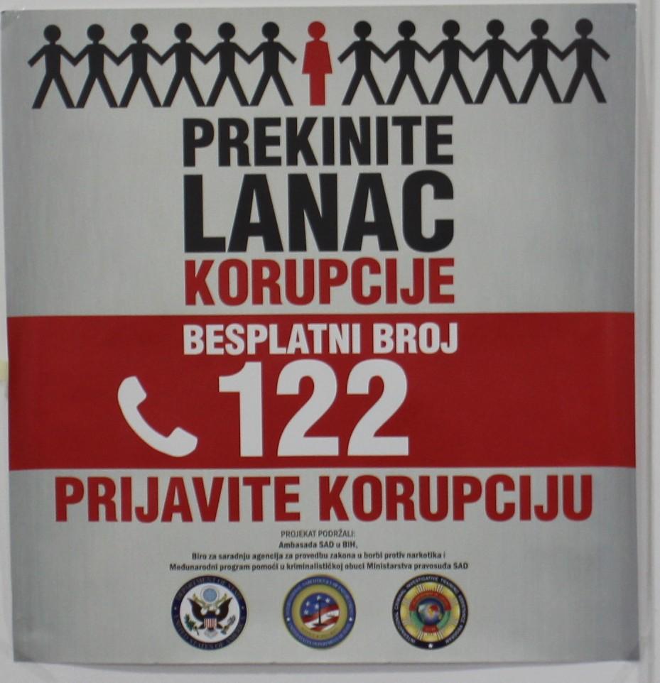 MUP TK: Kampanja Stop korupciji