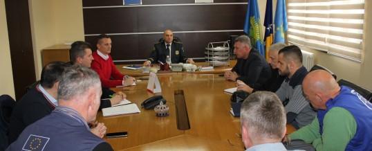 Uprava policije MUP-a TK – Radni sastanak na temu izmještanja migranata