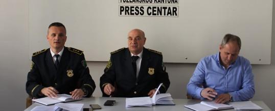 Uprava policije MUP-a TK – Održan radni sastanak proširenog kolegija