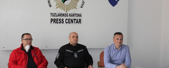Uprava policije MUP TK – Donacija zaštitne opreme
