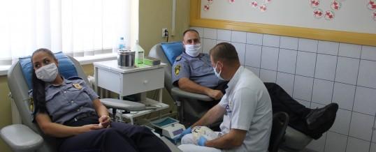 Uprava policije MUP TK – Akcija dobrovoljnog darivanja krvi