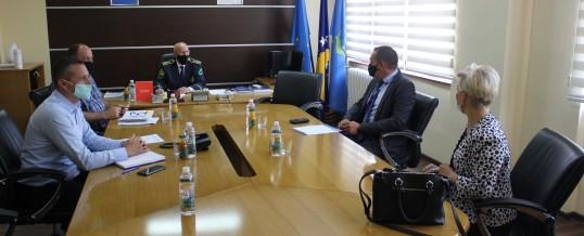 Uprava policije – Radna posjeta predstavnika Misije OSCE-a u BiH