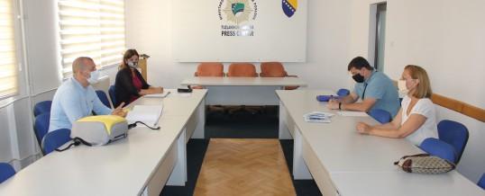 Uprava policije – Održan sastanak sa predstavnicima Biroa za ljudska prava Tuzla