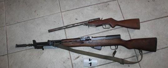Uprava policije – U pretresima na više lokacija pronađeni oružje, droga i drugi predmeti