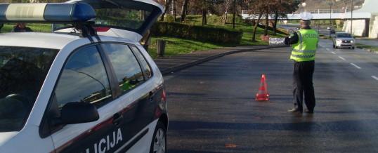 Uprava policije – Obavijest za vozače
