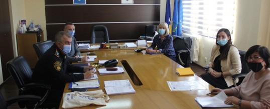 Uprava policije – Sastanak sa predstavnicama UG Vive žene Tuzla