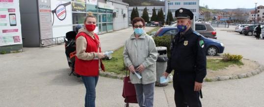 Zajedničke preventivne aktivnosti Uprave policije i gradskih/općinskih organizacija Crvenog krsta