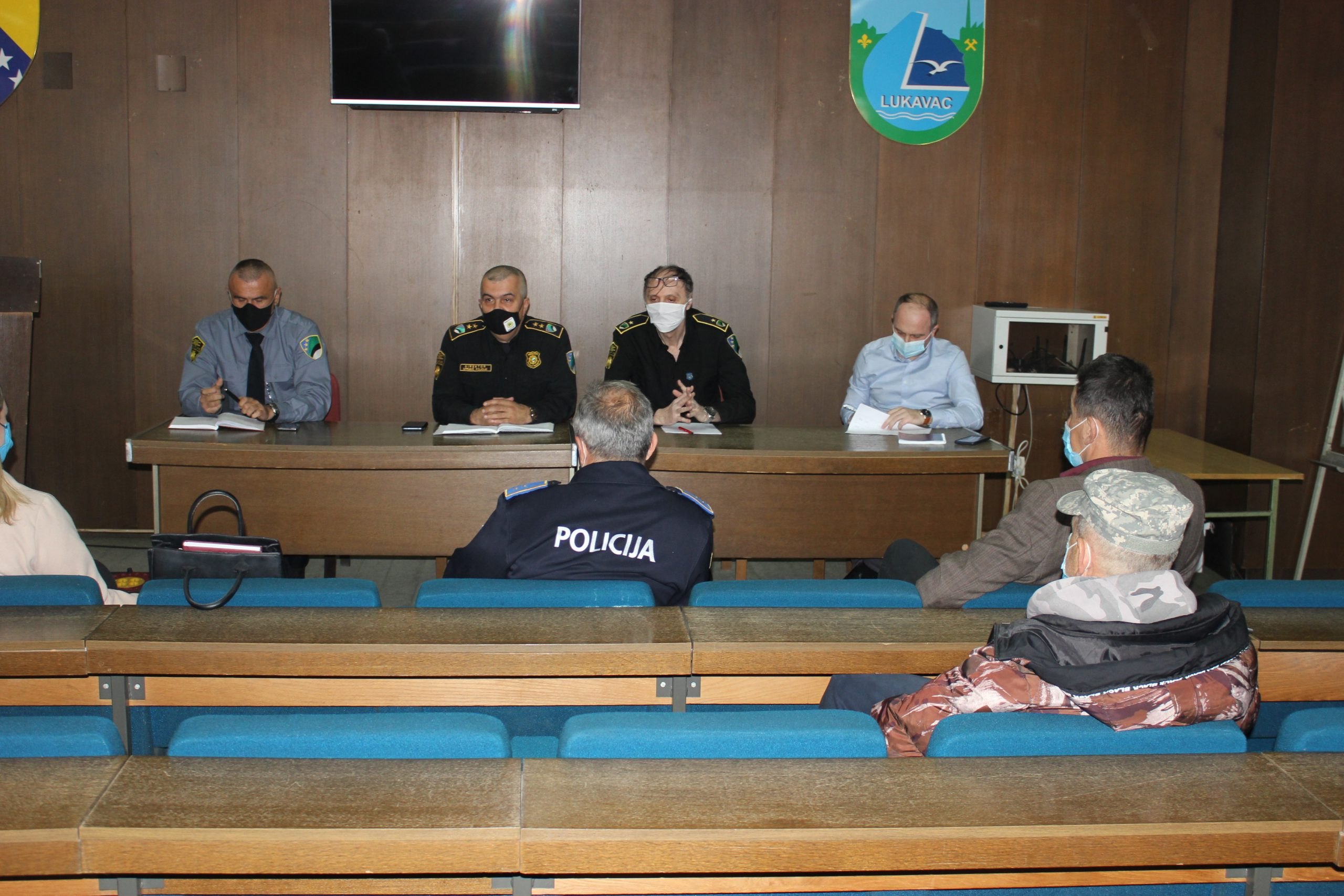 Uprava policije – Sastanak sa predstavnicima MZ Gornji i Donji Bistarac