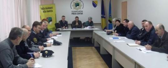 Održana sjednica Upravnog odbora Sindikata policije MUP TK-a