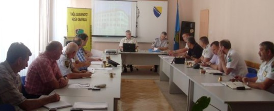 Održan prošireni kolegij v.d. policijskog komesara