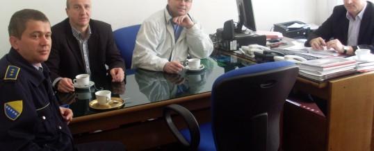Radni sastanak sa predstavnicima Direkcije za koordinaciju policijskih tijela BiH
