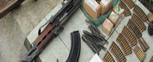U Čeliću pronađena veća količina municije i jedna automatska puška