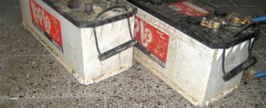 Pronađeni otuđeni akumulatori